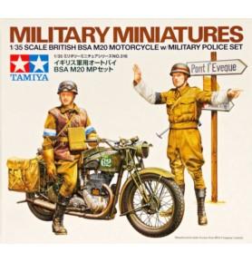 TAMIYA 35316 Figurki BSA M20 z zestawem policji wojskowej