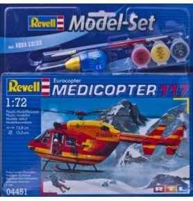 REVELL 64451 Lekki śmigłowiec Medicopter 117 (zestaw)