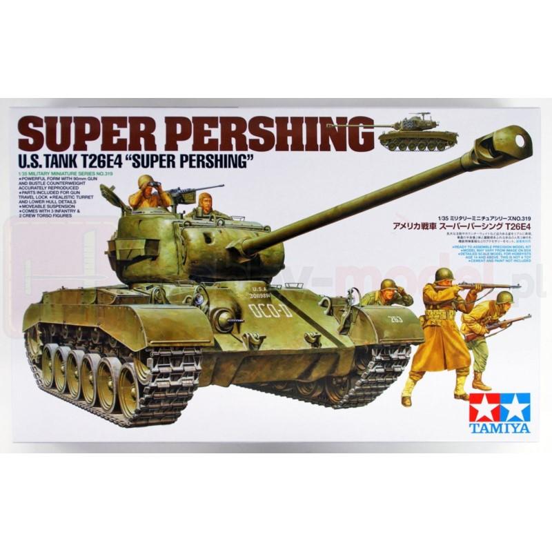"""TAMIYA 35319 Czołg T26E4 """"Super Pershing"""""""