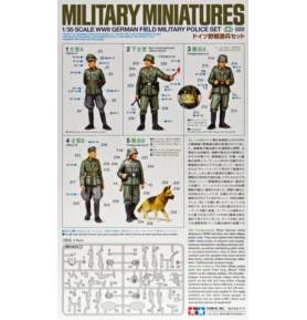 TAMIYA 35320 Figurki Zestaw polowej policji wojskowej