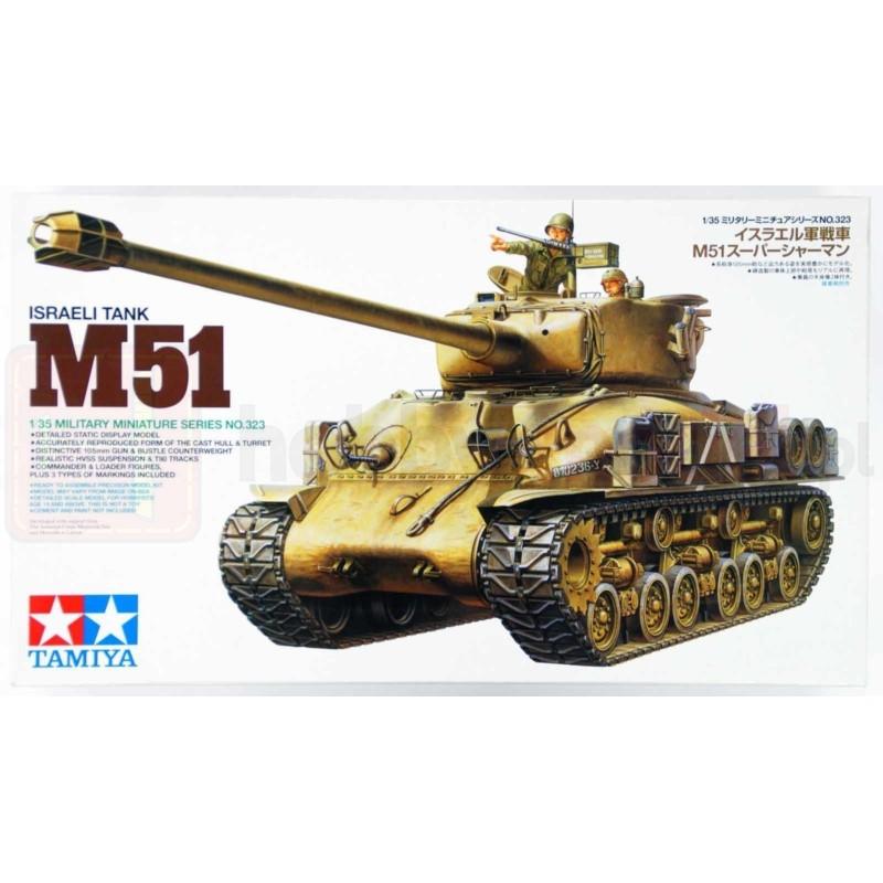 TAMIYA 35323 Czołg M51 Super Sherman