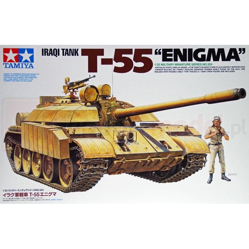 """TAMIYA 35324 Czołg T-55 """"Enigma"""""""