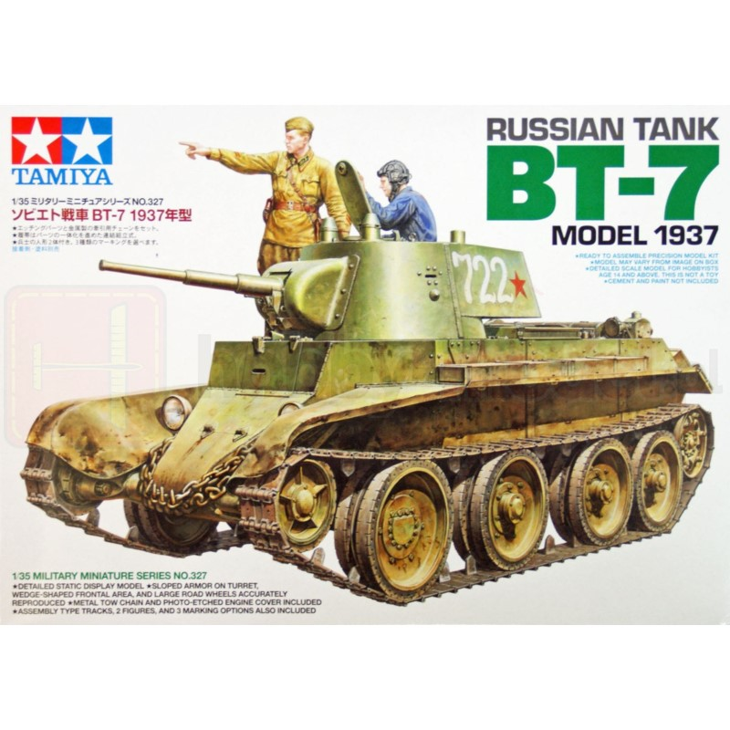 TAMIYA 35327 Czołg BT-7 Model 1937