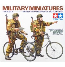 TAMIYA 35333 Figurki Brytyjscy spadochroniarze z rowerami