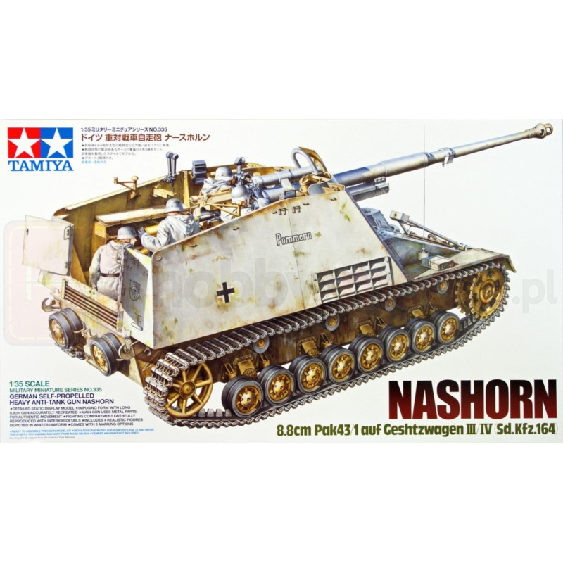 TAMIYA 35335 Niszczyciel Nashorn
