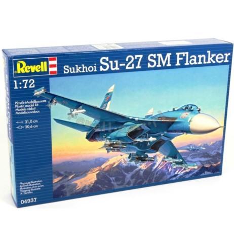 REVELL 04937 Myśliwiec wielozadaniowy Su-27 SM Flanker