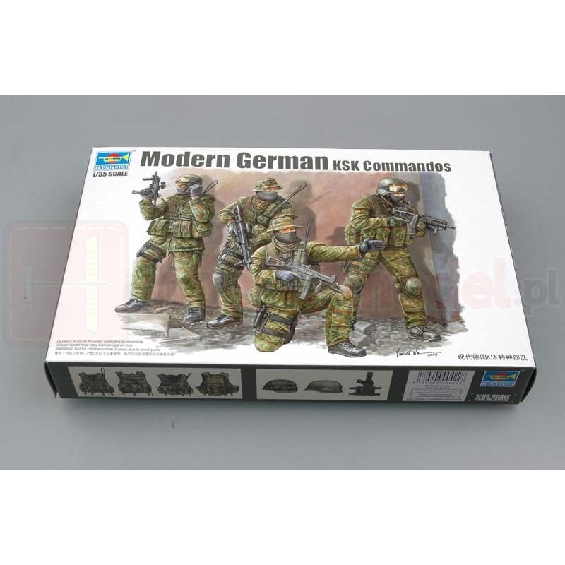 TRUMPETER 00422 Figurki Nowocześni niemieccy komandosi KSK