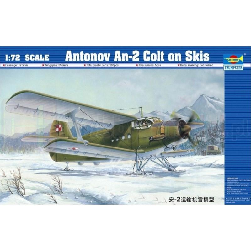 TRUMPETER 01607 Samolot wielozadaniowy AN-2 Colt on Skis