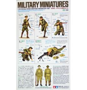 TAMIYA 35339 Figurki Zestaw brytyjskiej piechoty