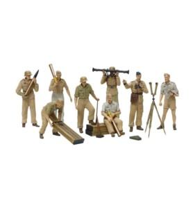 TAMIYA 35343 Figurki Załoga artylerii Luftwaffe