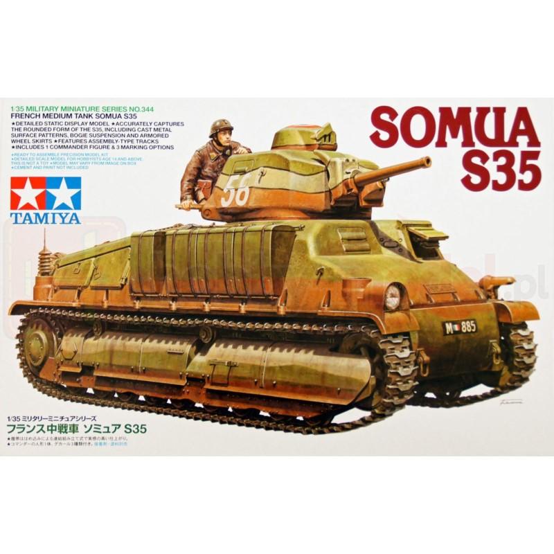 TAMIYA 35344 Czołg Somua S35