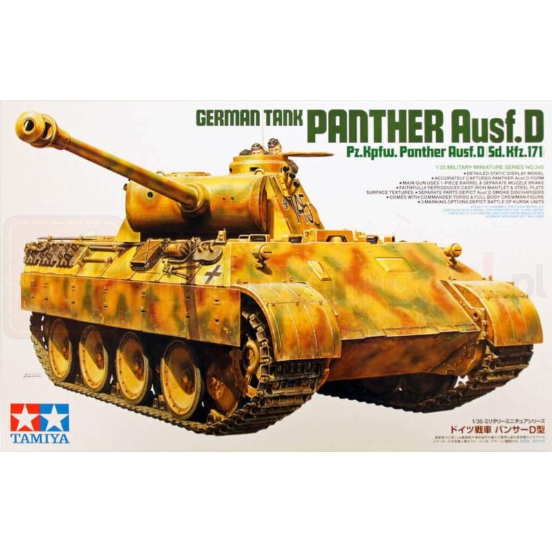 TAMIYA 35345 Czołg Panther Ausf. D