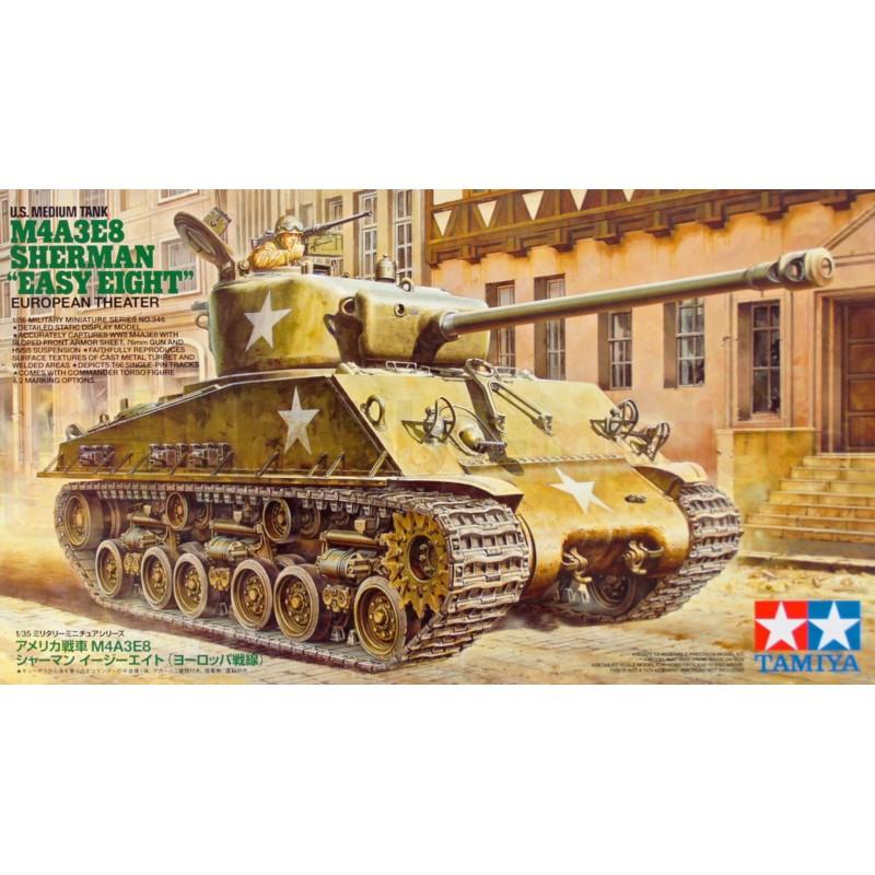 "TAMIYA 35346 Czołg M4A3E8 Sherman ""Easy Eight"""
