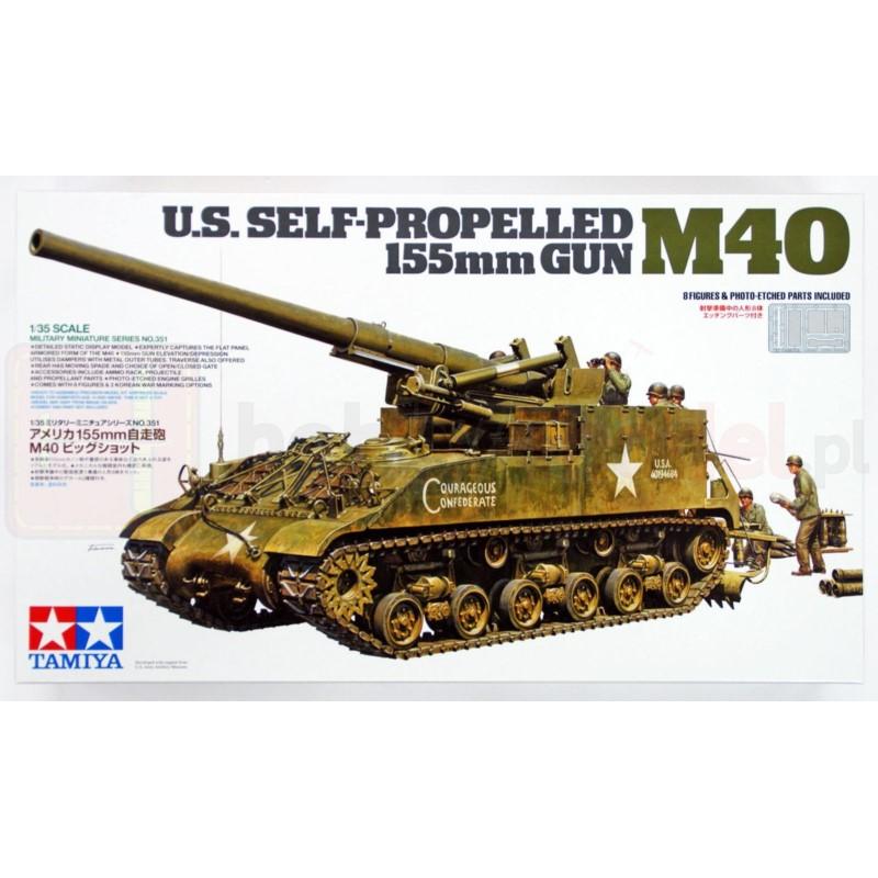 TAMIYA 35351 Działo M40 155 mm