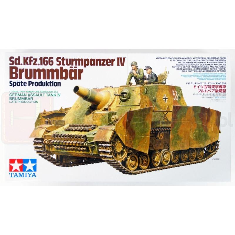 TAMIYA 35353 Działo Brummbar Późna produkcja