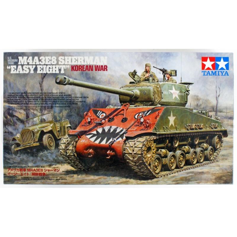 TAMIYA 35359 Czołg M4A3E8 Sherman Easy Eight Korean War