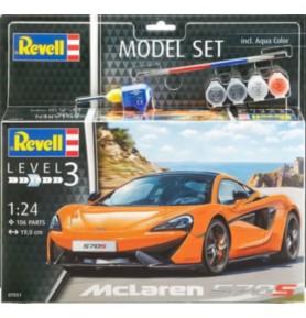 REVELL 67051 Samochód sportowy McLaren 570S (zestaw)