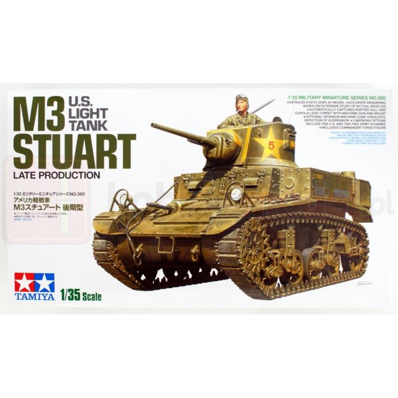 TAMIYA 35360 Czołg M3 Stuart Późna produkcja