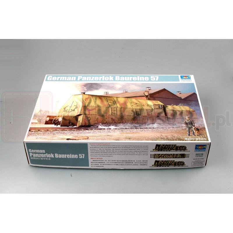 TRUMPETER 00219 Lokomotywa Panzerlok Baureine 57