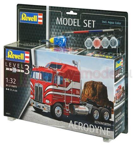 REVELL 67671 Ciągnik siodłowy Kenworth Aerodyne (zestaw)
