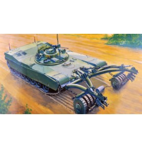 TRUMPETER 00346 Czołg M1 Panther II Mineclearing Tank