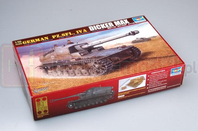 TRUMPETER 00348 Niszczyciel Pz.Sfl. IVa Dicker Max