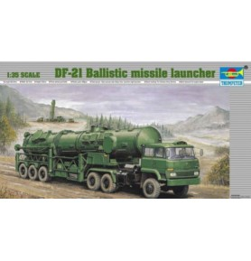 TRUMPETER 00202 Pocisk balistyczny DF-21 Ballistic missile launcher