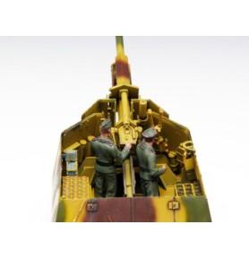 TRUMPETER 00353 Haubica 10.5cm LeFH18(Sf) auf Geschutzwagen