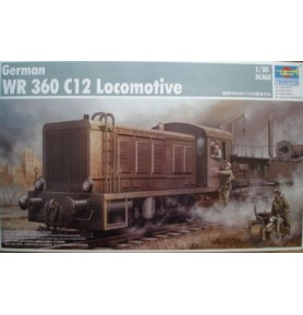 TRUMPETER 00216 Lokomotywa spalinowa German WR 360 C12