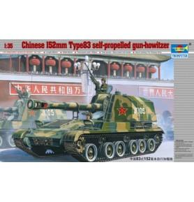 TRUMPETER 00305 Haubicoarmata China Typ 83