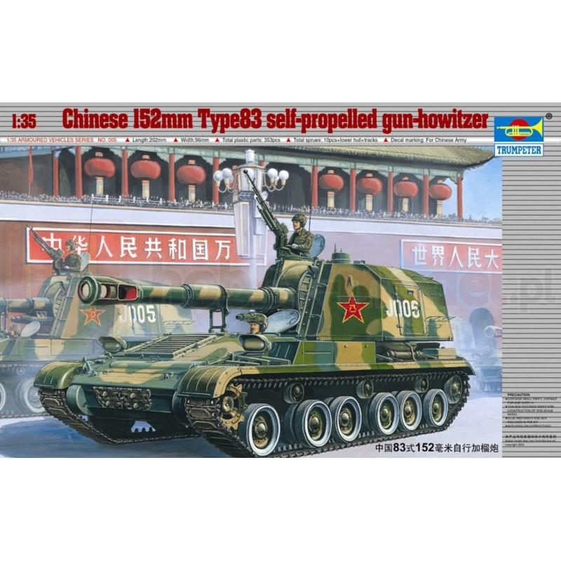 TRUMPETER 00306 Niszczyciel czołgów China Typ 89