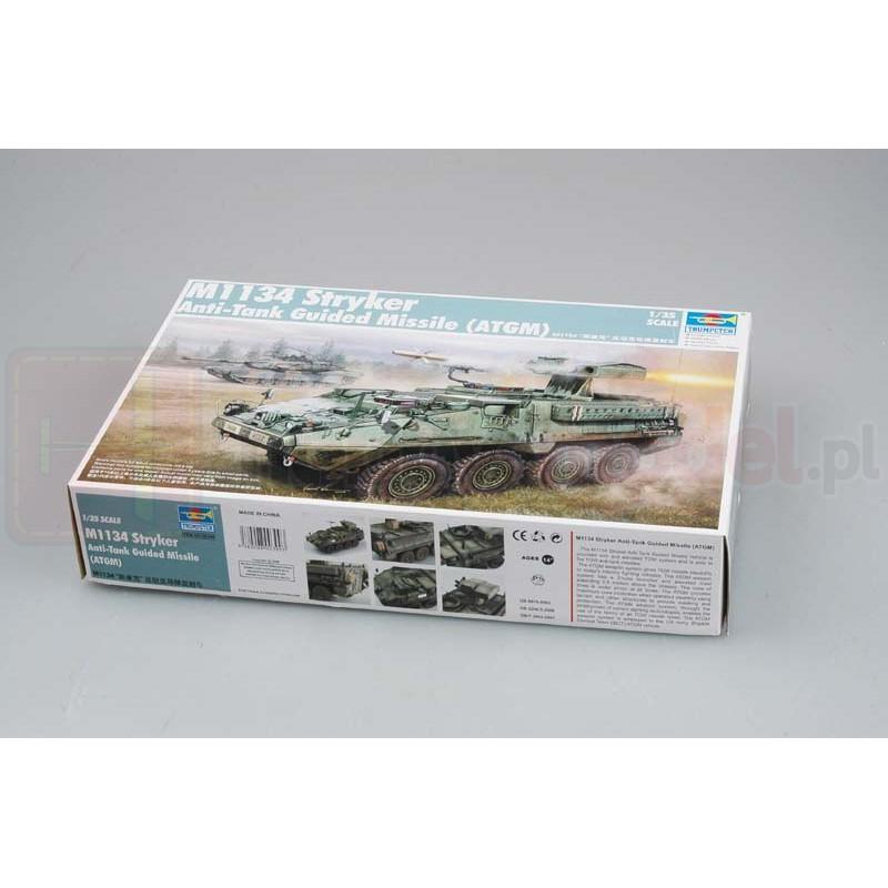 TRUMPETER 00399 Wóz M1134 Stryker