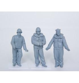TRUMPETER 00408 Figurki WW2 USN LCM crew