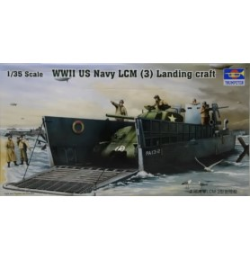 TRUMPETER 00347 Barka WWII US Navy LCM (3) Landing