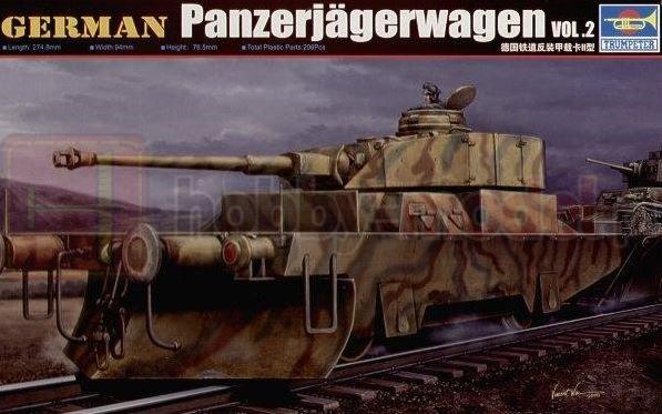 TRUMPETER 00369 Pojazd Panzerjager I