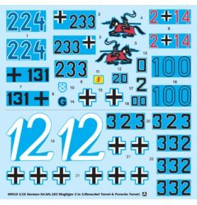 TRUMPETER 00910 Czołg Kingtiger 2 in 1