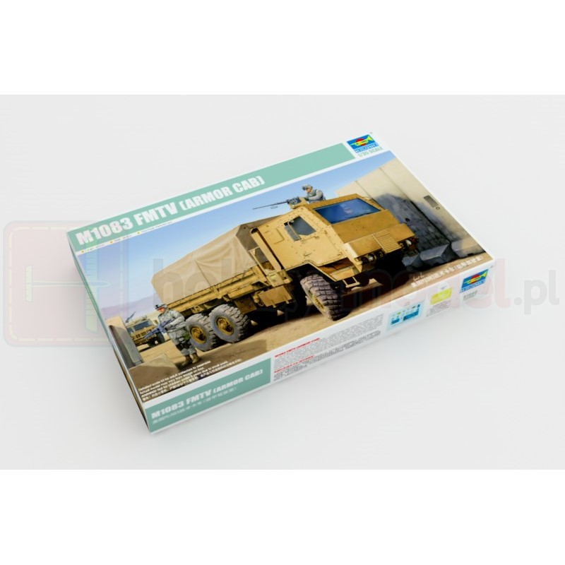 TRUMPETER 01008 Ciężarówka M1083 FMTV Kabina pancerna