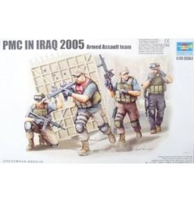 TRUMPETER 00419 Prywatni najemnicy PMC in Iraq 2005 Fire Movement Team