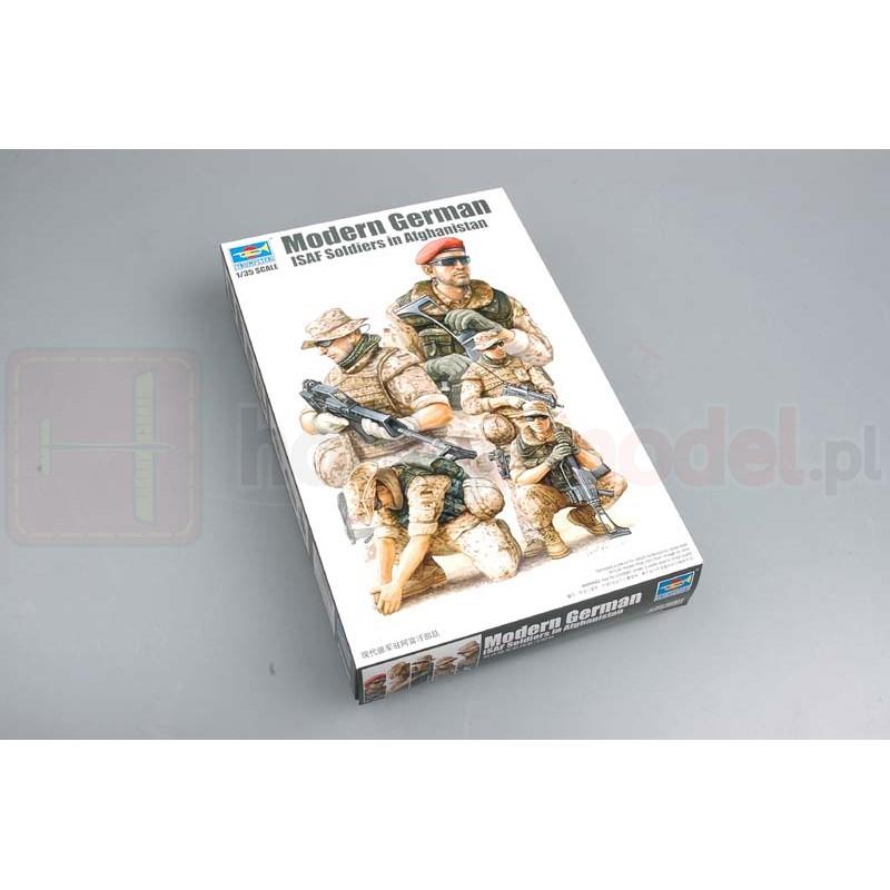 TRUMPETER 00421 Niemieccy żołnierze Modern German ISAF Soldiers in Afghanistan
