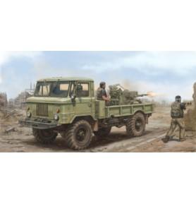 TRUMPETER 01017 Pojazd GAZ-66 z ZU-23-2