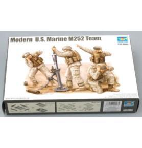 TRUMPETER 00423 Amerykańscy żołnierze Modern US Marine M252 Mortar Team