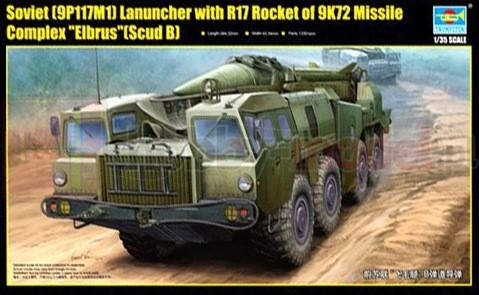 TRUMPETER 01019 Broń rakietowa
