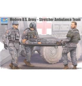 TRUMPETER 00430 Amerykańscy żołnierze Modern US Army Ambulance Team
