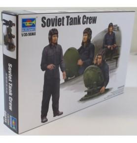 TRUMPETER 00435 Sowieccy żołnierze Soviet tank crew