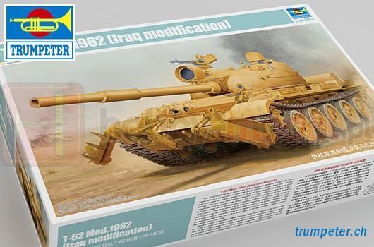 TRUMPETER 01547 Czołg T-62 Mod.1960 (Modyfikacja Irak.)