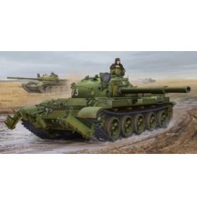TRUMPETER 01550 Czołg T-62 Mod. 1975 (KMT-6 Pług)