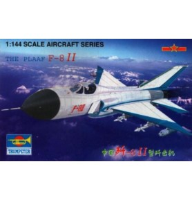 TRUMPETER 01328 Myśliwiec PLAAF F-8 II