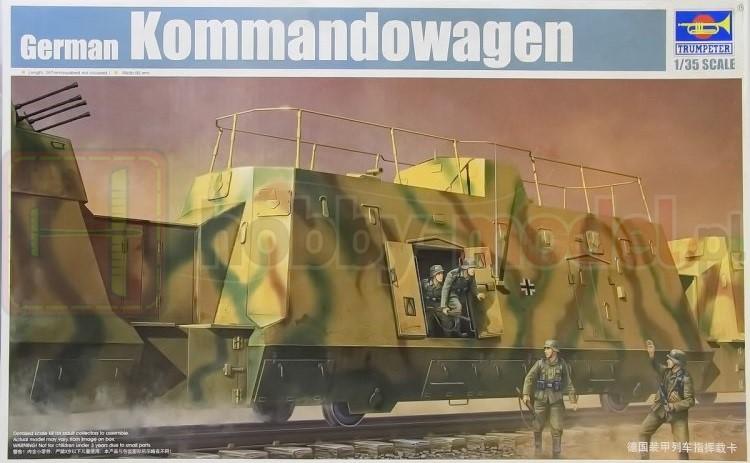 TRUMPETER 01510 German IIWW Kommandowagen