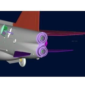 TRUMPETER 01634 Myśliwiec EE BAC Lightning F.1A/F.2