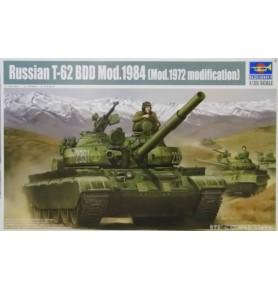 TRUMPETER 01554 Czołg T-62 BDD Mod. 1984